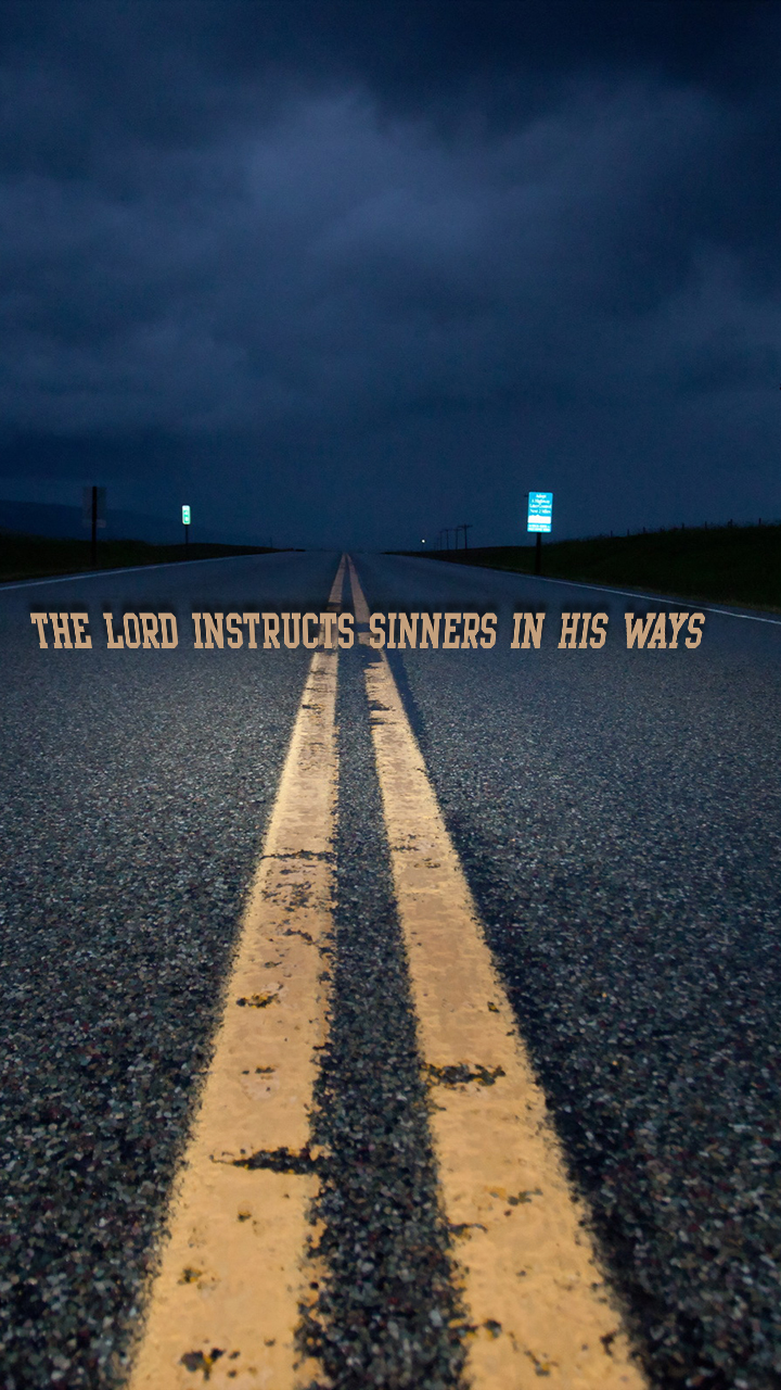 the lord instructs | christian wallpapers