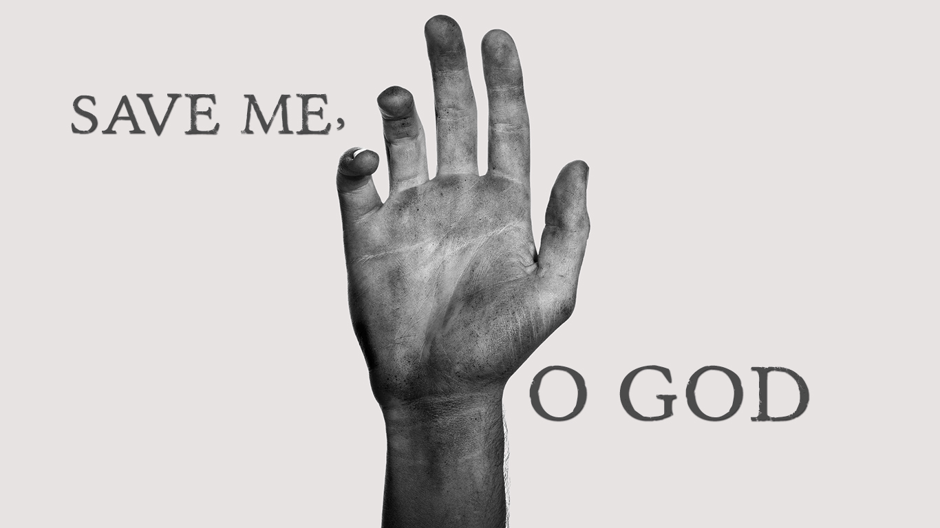 Save me O God hand christian wallpaper hd_1366x768