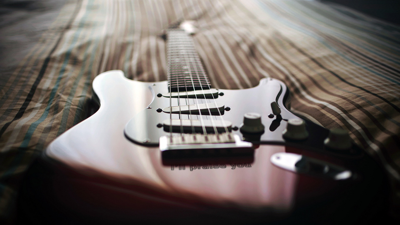I will praise you guitar bed christian wallpaper hd_1366x768