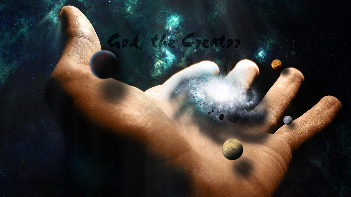 god the creator christian wallpapers