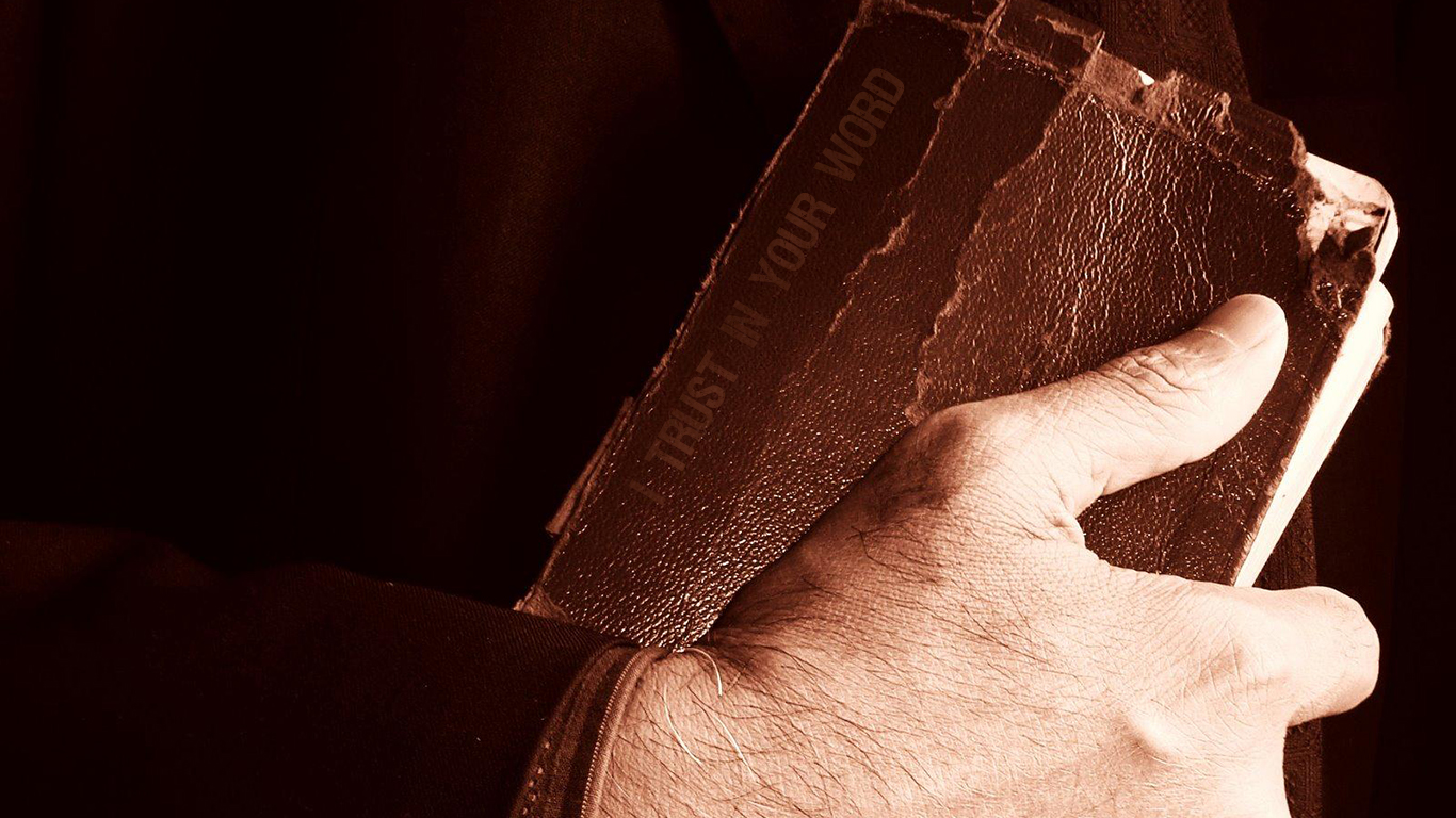 I trust in your word bible christian wallpaper_1366x768