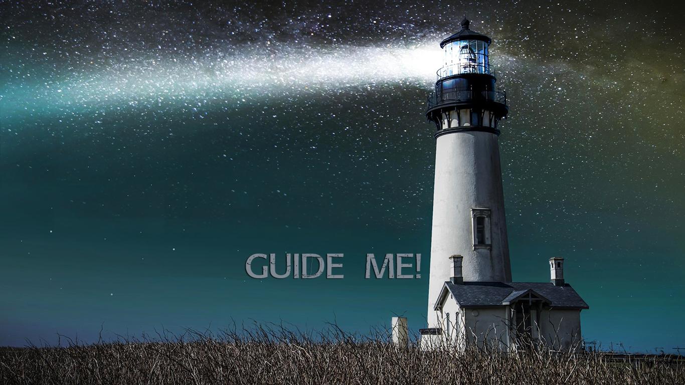 guide me lighthouse field christian wallpaper hd_1366x768