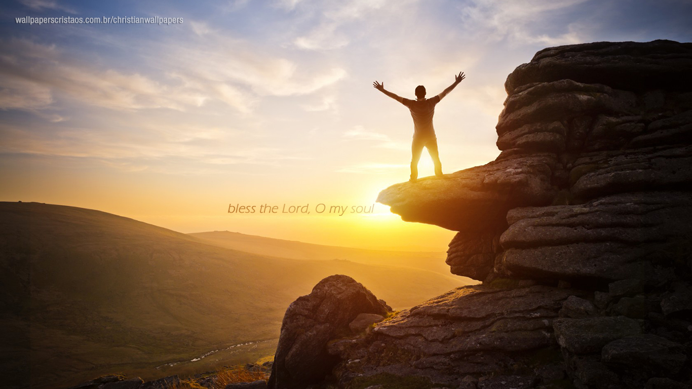 bless the Lord, O my soul christian wallpaper hd_1366x768