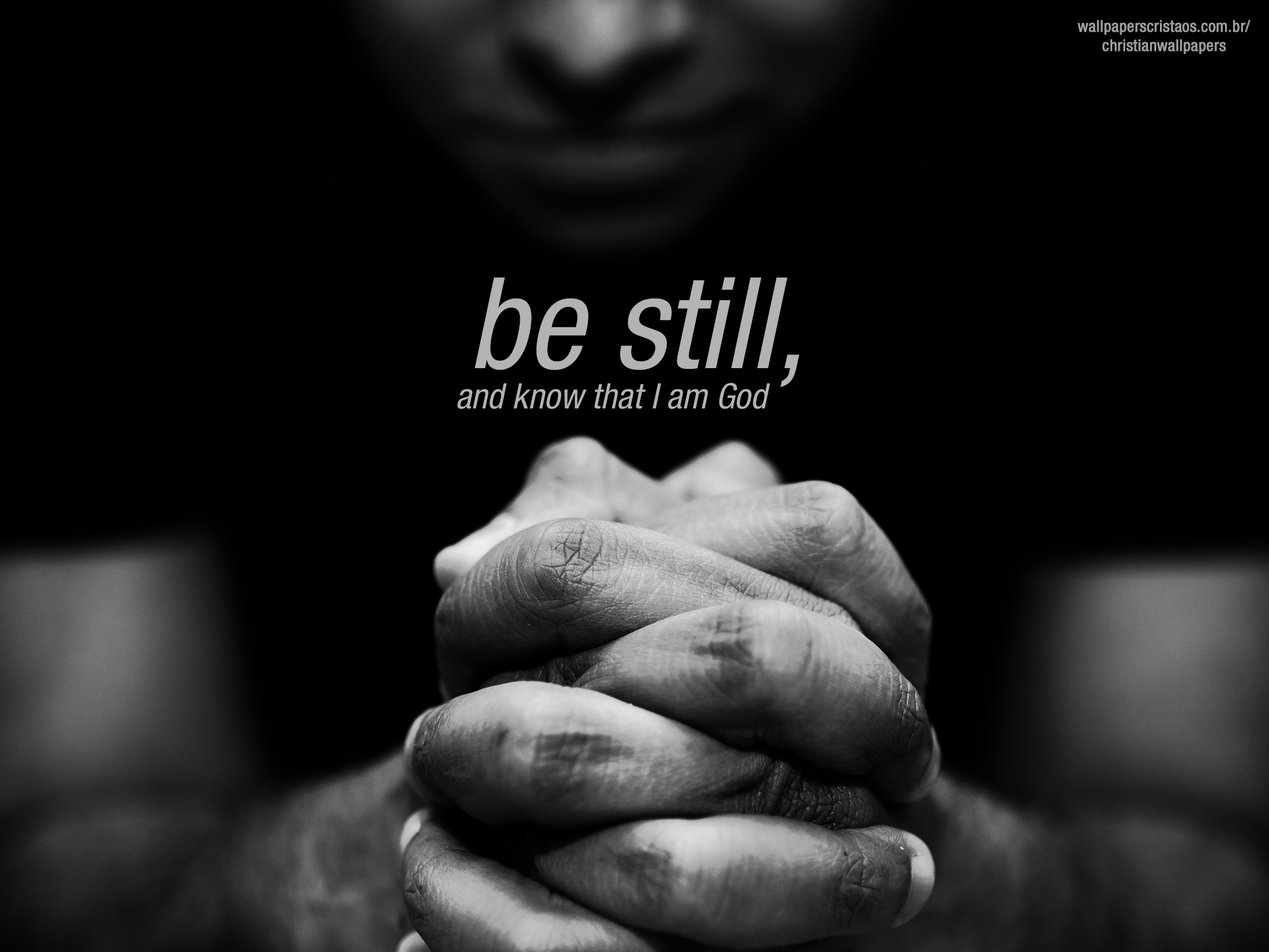 be still! | christian wallpapers